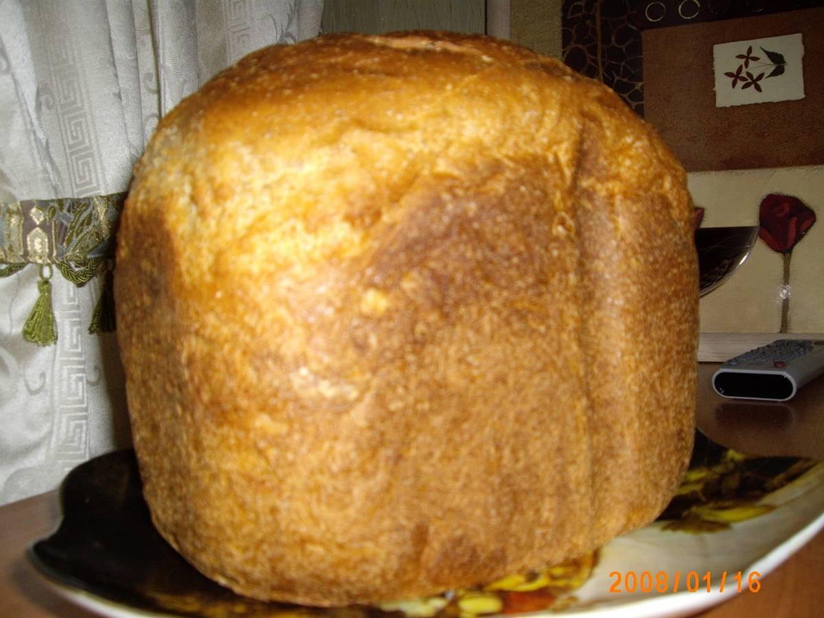 Хлеб в хлебопечке из пшеничной муки рецепт